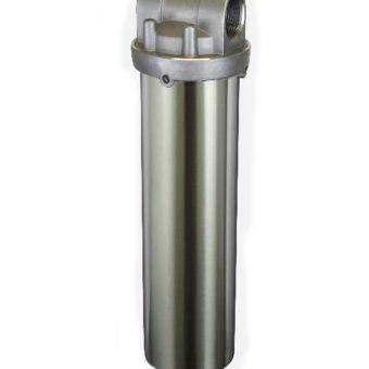 SS134 stainless steel water filter housing - Aqua Pure SST1HA, Aqua PureAP1610SS, WW Grainger 49X982, WW Granger 6YJ19