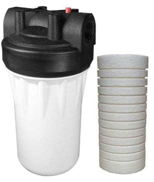 Wholehouse Industrial Grade Water Filter for Sediment With Scale Inhibitor