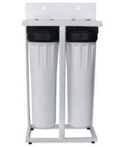 Deionized water system, deionization filter, spot-free water, spot-free system