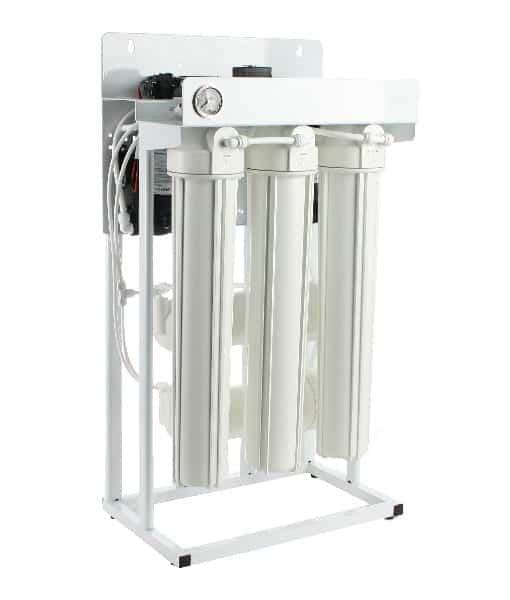 600 Gpd Light Commercial Ro System Floor Standing Reverse