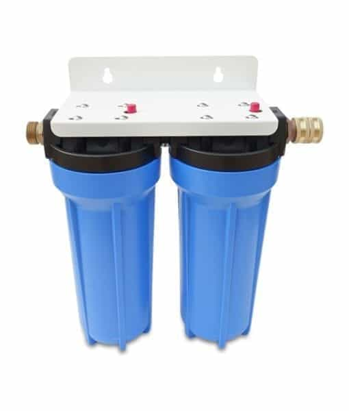 2 Stage Rv Water Filter System With Scale Inhibitor 2 Gpm