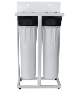 well water sediment filter system - floor standing unit