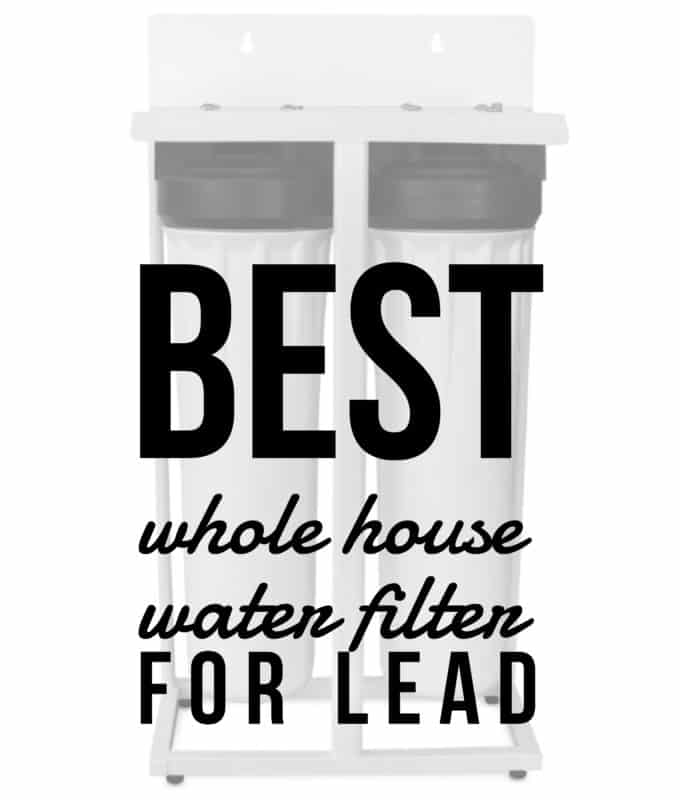 best whole house water filter for lead is the Premiere PS-2000PB ultrafiltration system